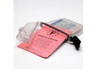 Clearbox ID Card holder - waterproof version - (metal split ring provided)