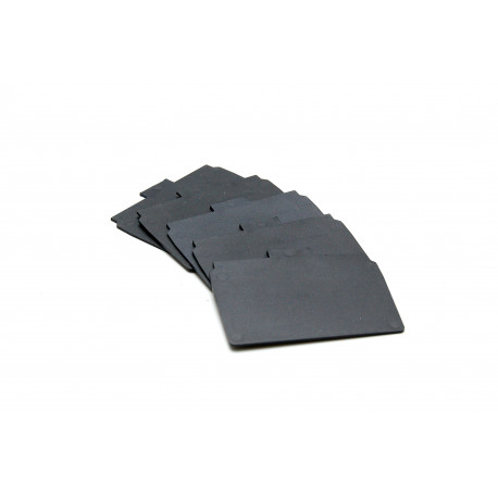 Set of 5 additional plastic dividers