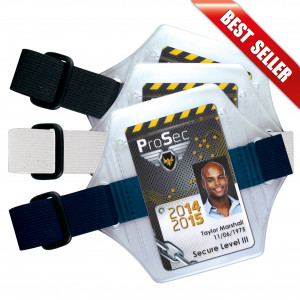 IDC30 : Armband badge holder