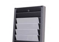 Kartenregal für 40 Karten, Scheckkartenformat (86 x 54 mm)