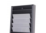 Wall rack for 40 horizontal cards