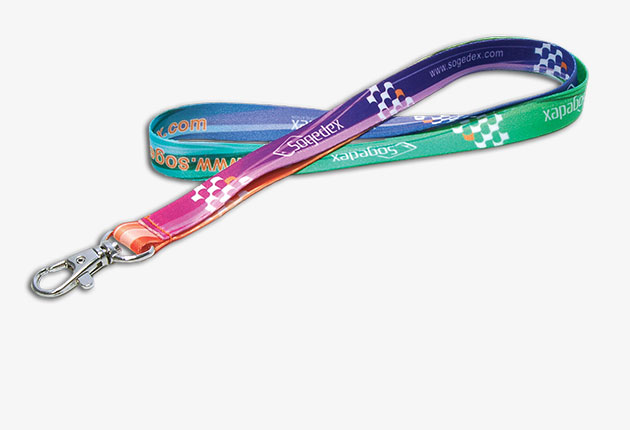 montre Customizable lanyards